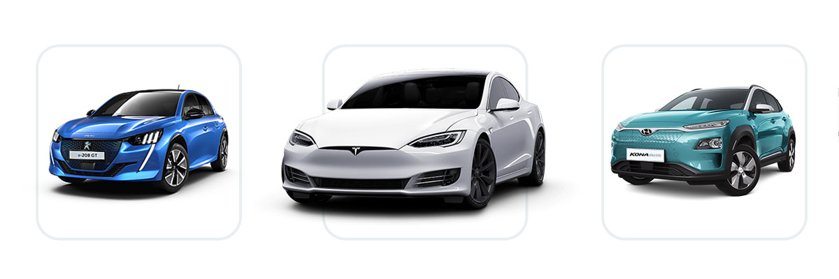 Electric car sales database and top-rated electric car models for 2020